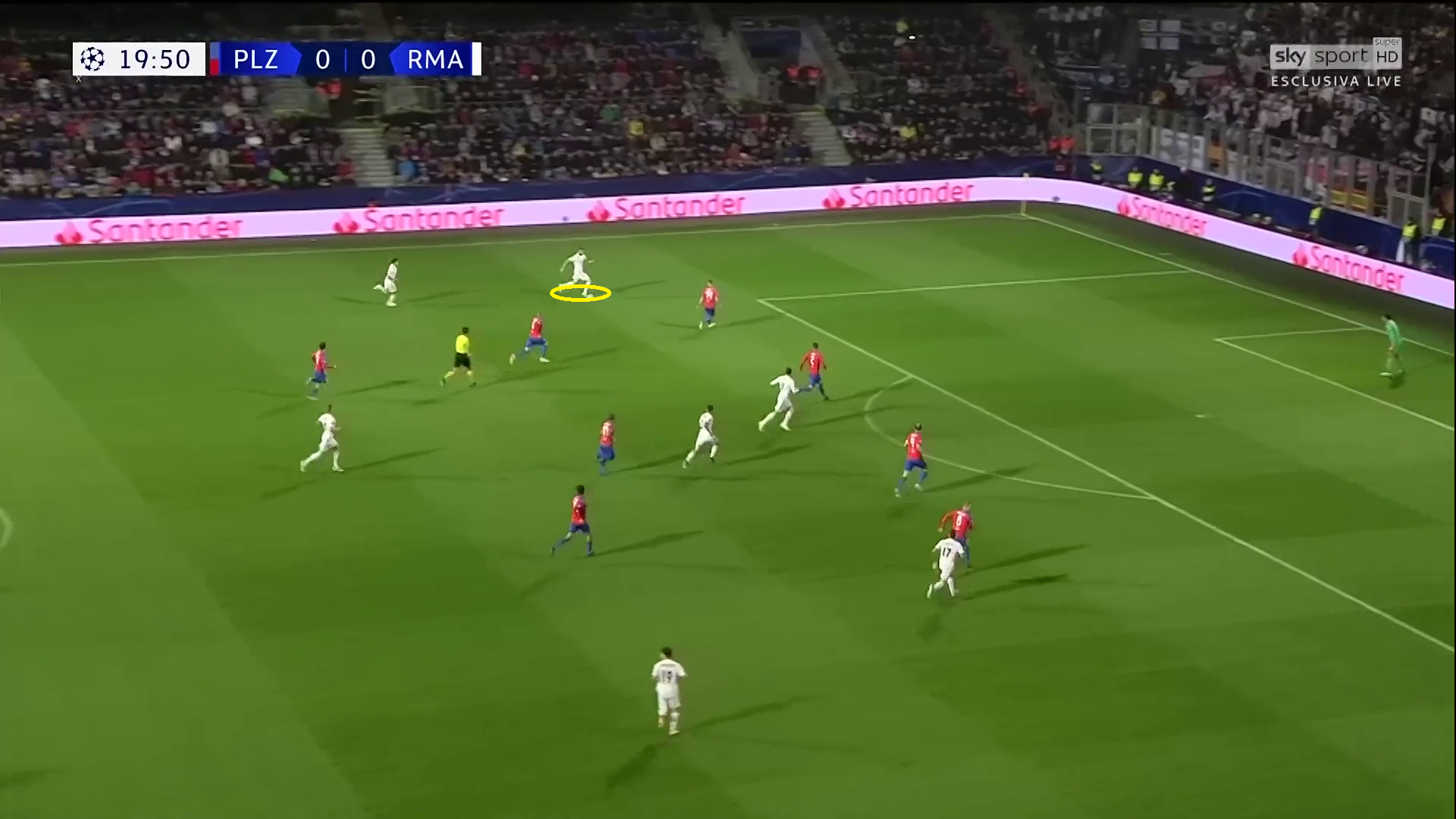 Real-Madrid Viktoria-Plzen Champions League Tactical Analysis Statistics